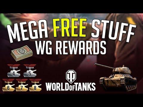 Free Bonds Credits T-50-2 WoT 10th Anniversary Giveaway World of Tanks Rewards