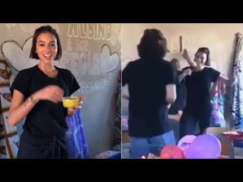 Bruna Marquezine flagrada curtindo funk em viagem missionária