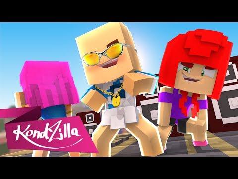 NÃO TENHO CABELO - PARÓDIA EU SOU MODELO MC DICK VIGARISTA Minecraft Música