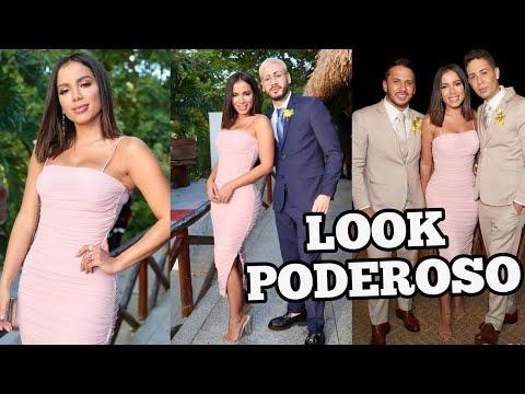 Anitta fica IMPRESSIONADA com a beleza de Kevinho durante CASAMENTO de Carlinhos Maia