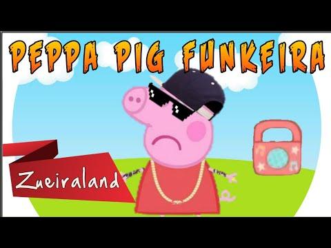 Peppa Pig FUNKEIRA ouvindo MC Jotinha - Se você ficar cansada