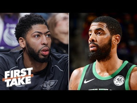 Danny Ainge dropped the ball with Anthony Davis Kyrie Irving Stephen A First Take