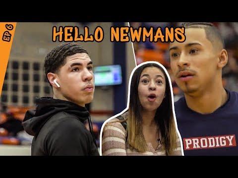 How Julian Newman Prepared To Play LAMELO BALL Jaden Newman Has A CRUSH On Melo