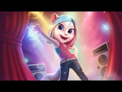 My Talking Angela new update new room dance studio - dance with angela and learn all new moves