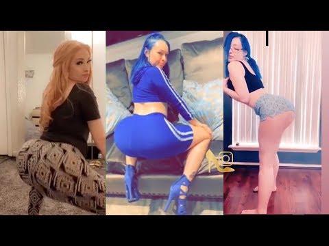Cherrybarbiedoll Big Booty Twerk Compilation