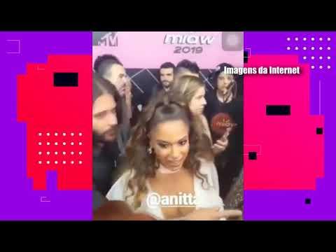 Anitta é acusada de ignorar a MC Pocahontas durante MTV Miaw