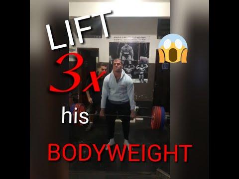 275kg deadlift - Tadalafellas BW 93kg