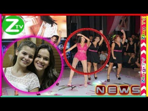 Irmã de Bruna Marquezine Luana dança funk e impressiona em festa