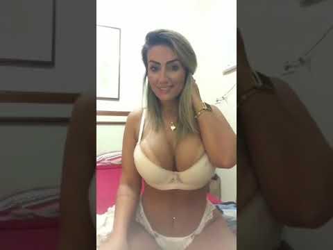 videosex loira sex gostosa Loira gostosa de lingerie fio dental VEJAM