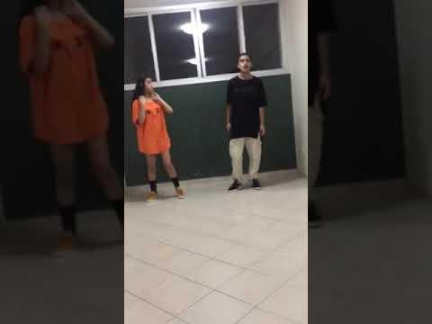 Dança kikadinha Laryssa Borges e Kauê Kurt