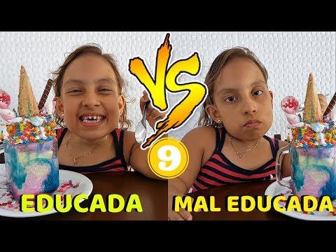 Criança Educada VS Mal Educada 9 - MC Divertida